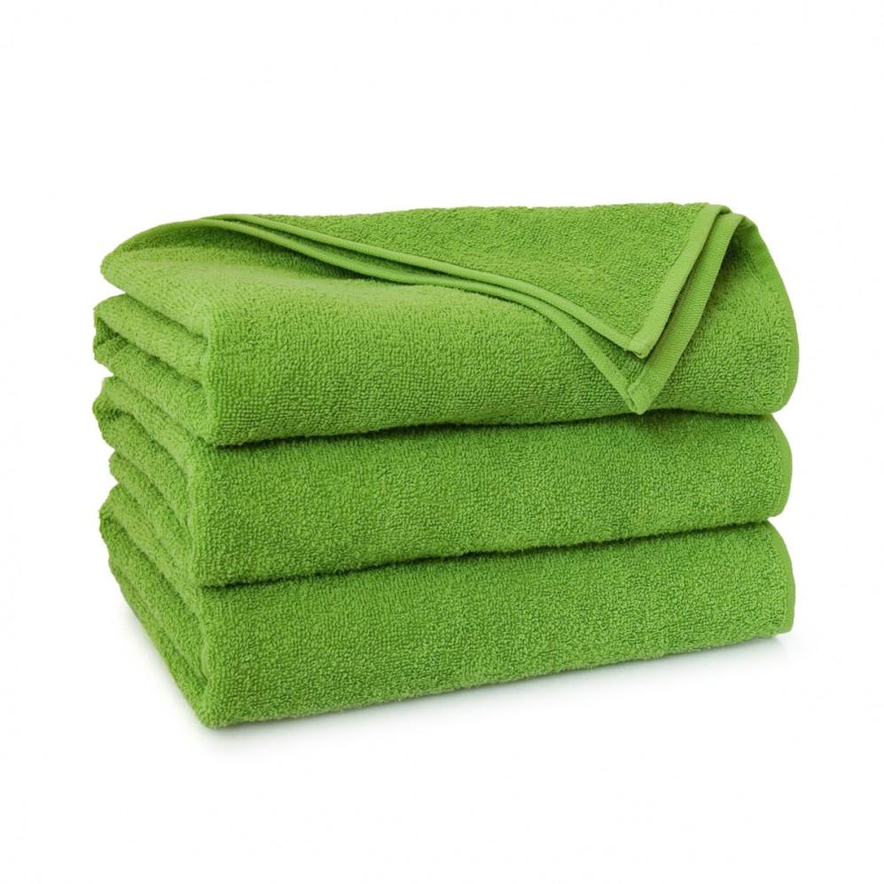 Ręcznik bawełniany zielony Liczi Groszkowy