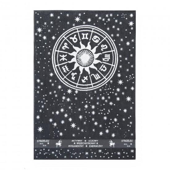 Ręcznik plażowy Zodiak 5 Grafitowy Strzelec