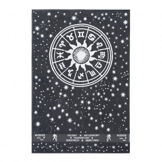Ręcznik plażowy Zodiak 5 Grafitowy Wodnik