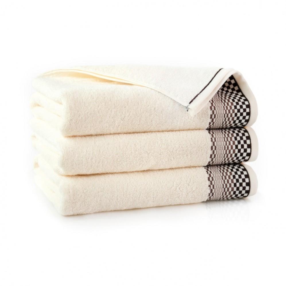 Ręcznik bawełniany beżowy Fantom Ecru