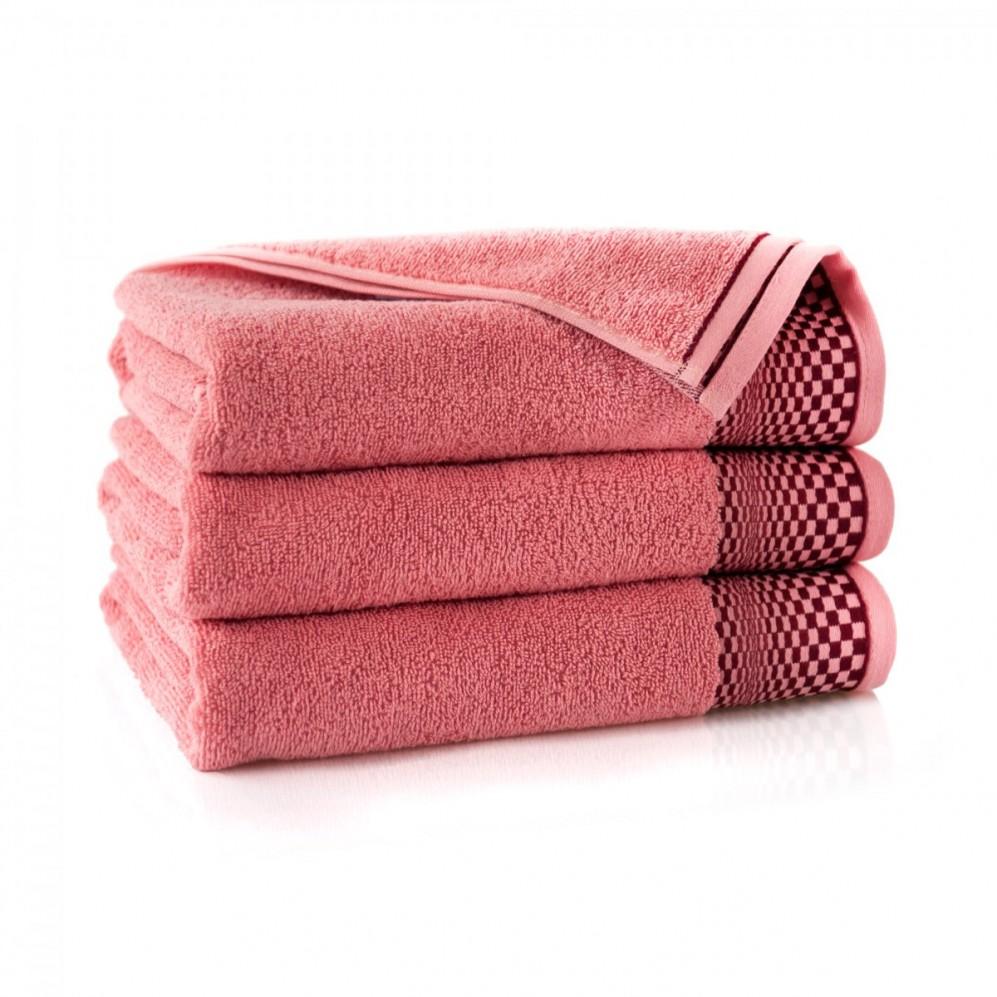 Ręcznik bawełniany różowy Fantom Homar