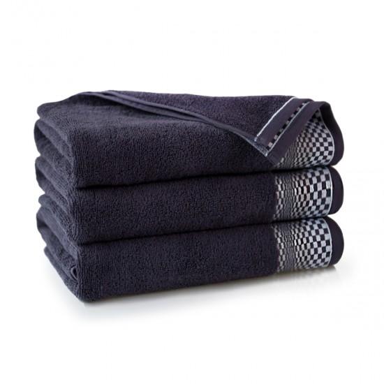 Ręcznik bawełniany fioletowy Fantom Bakłażan