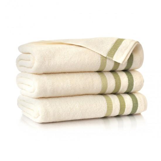 Ręcznik bawełniany beżowy Tercja Ecru