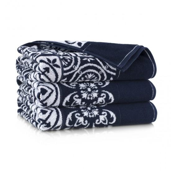 Ręcznik bawełniany Enrica Granatowy