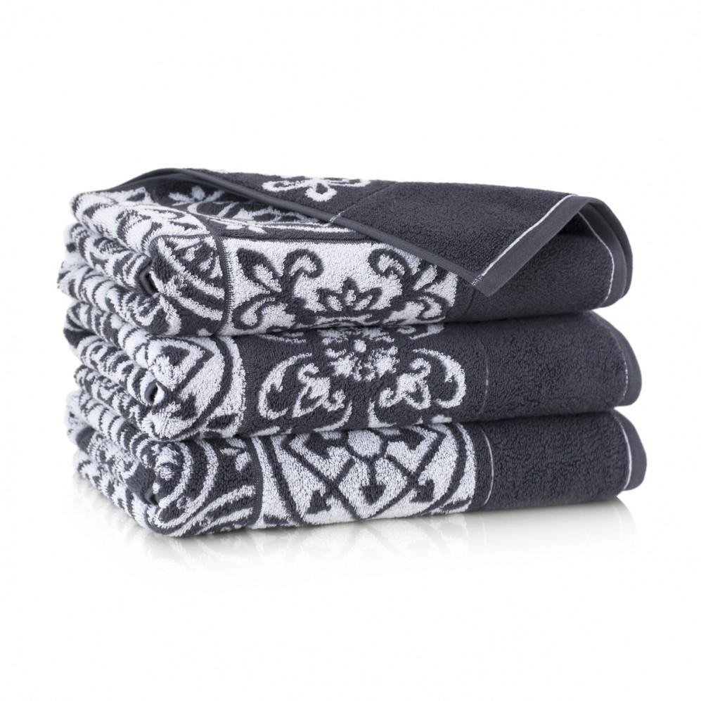 Ręcznik bawełniany Enrica Szary