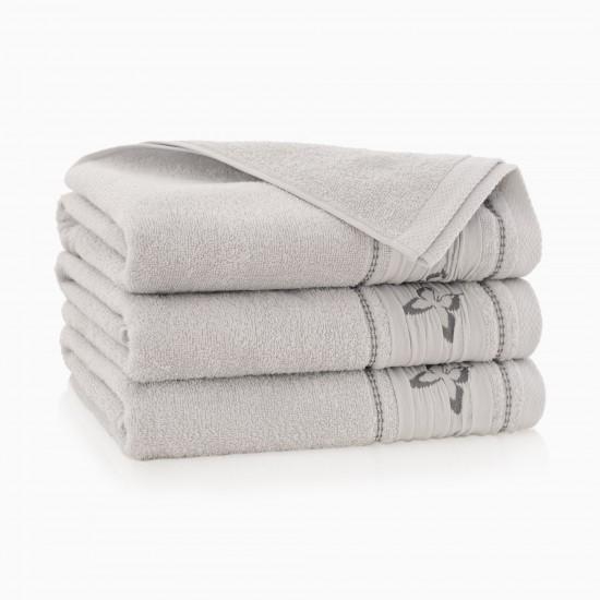 Ręcznik bawełniany szary Rusałka Stalowy
