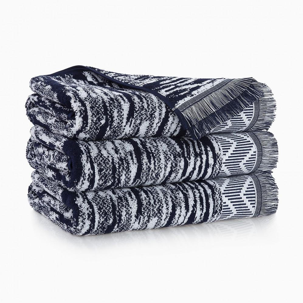 Ręcznik bawełniany Indiana Granatowy
