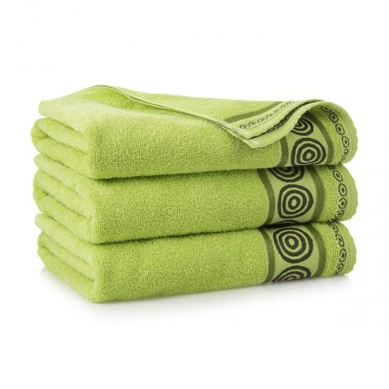 Ręcznik bawełniany Rondo Zieleń wiosenna