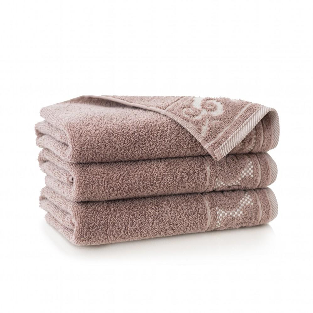 Ręcznik bawełniany brązowy Inspiration Cynamonowy