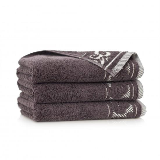 Ręcznik bawełniany brązowy Inspiration Gorzka czekolada