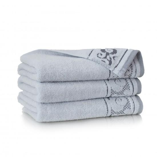Ręcznik bawełniany szary Inspiration Stalowy