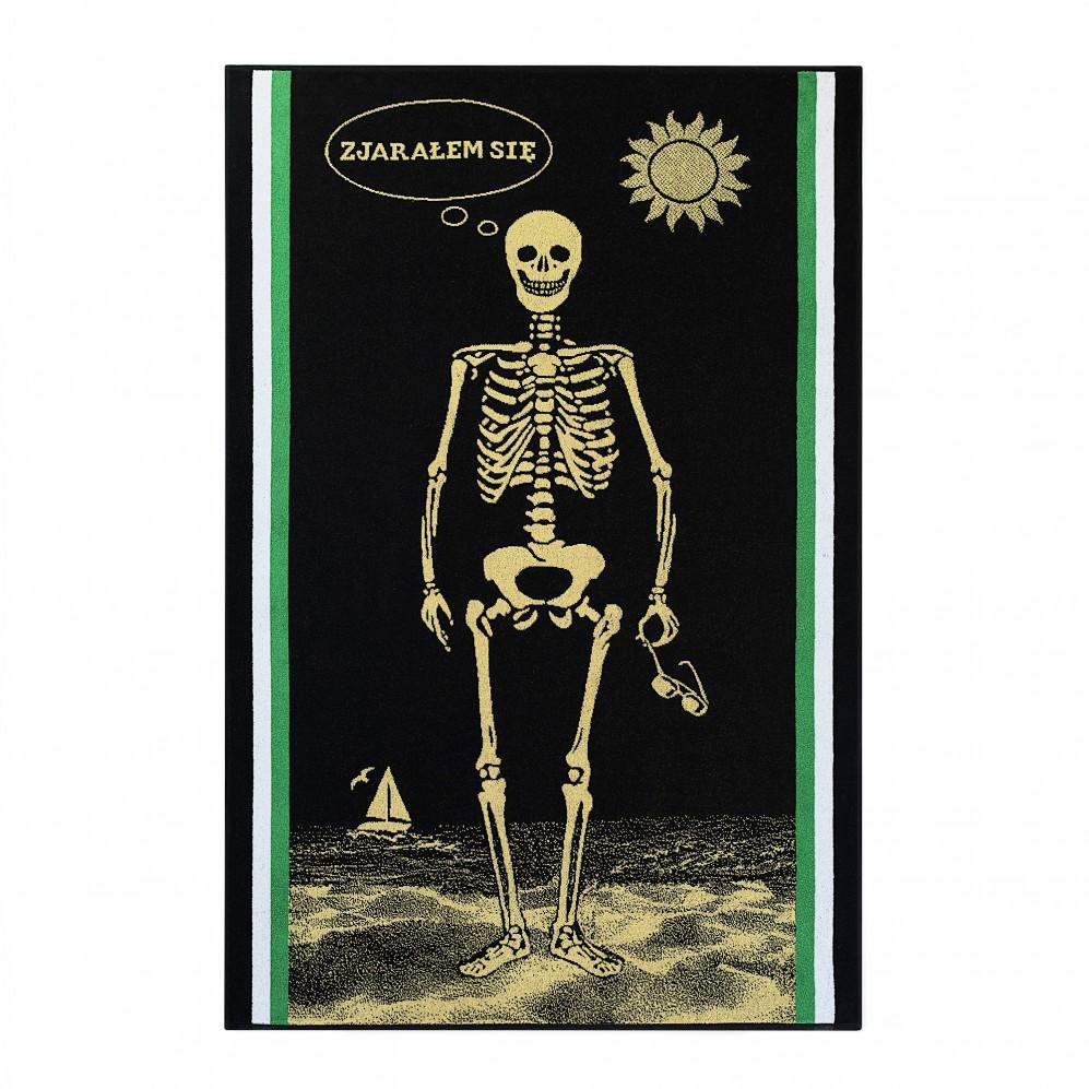 Ręcznik plażowy Kostek Czarny