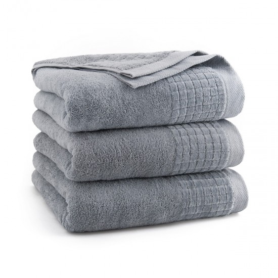 Ręcznik bawełniany szary Paulo 2 Jasny grafit AG
