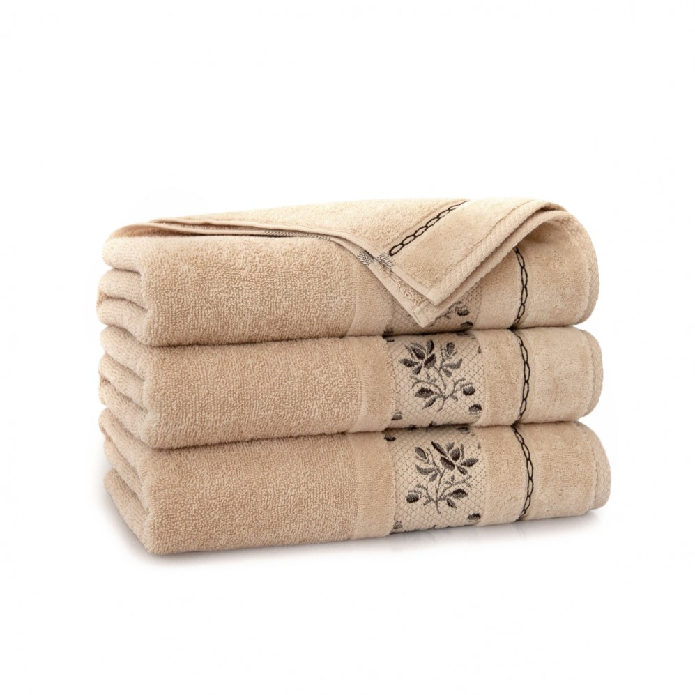 Ręcznik bawełniany Azalia Beż