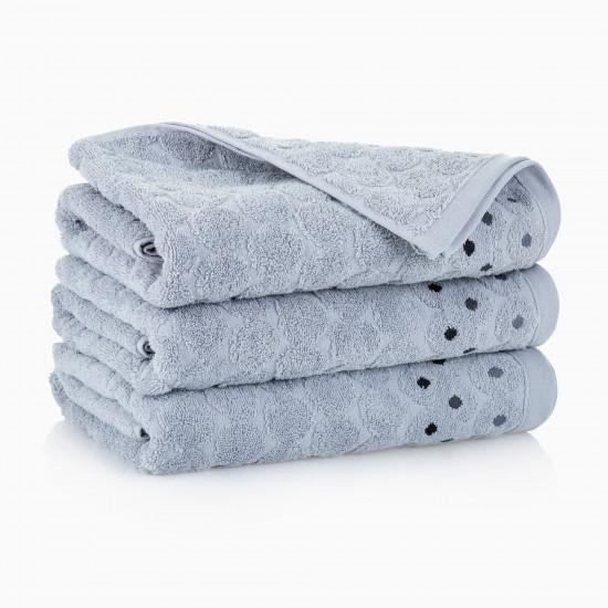 Ręcznik bawełniany szary Kolia Platynowy