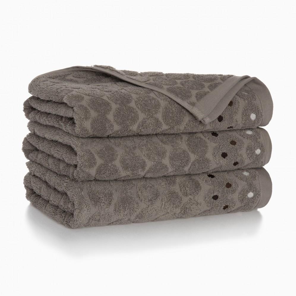Ręcznik bawełniany beżowy Kolia Sezam