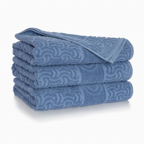 Ręcznik bawełniany niebieski Morwa Niagara