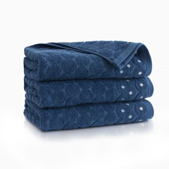 Ręcznik bawełniany niebieski Kolia Atlantycki