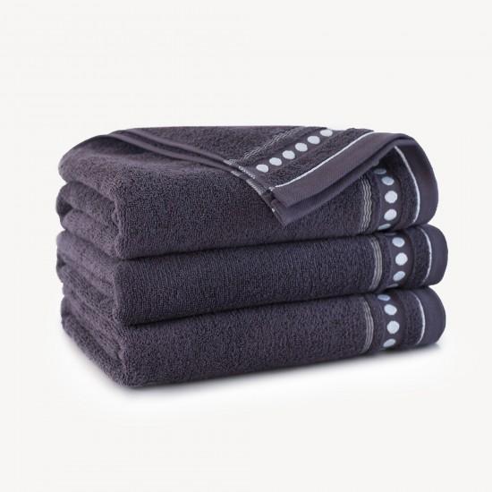 Ręcznik bawełniany Trio Bakłażan