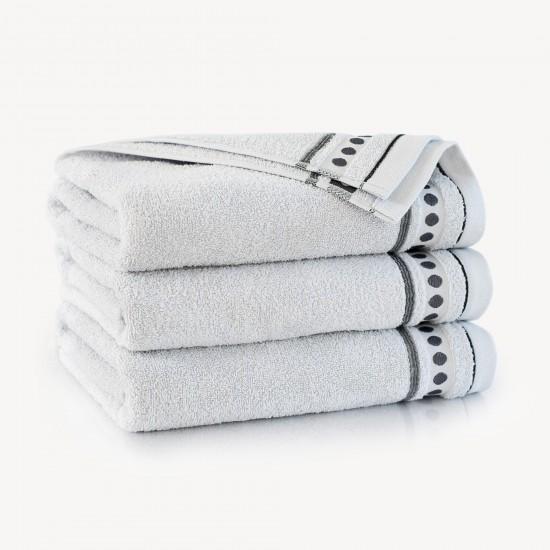 Ręcznik bawełniany Trio Stalowy