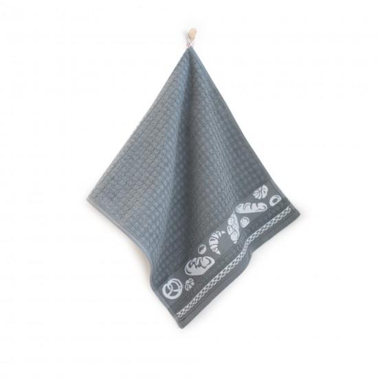 Ręcznik kuchenny Rogale Szary