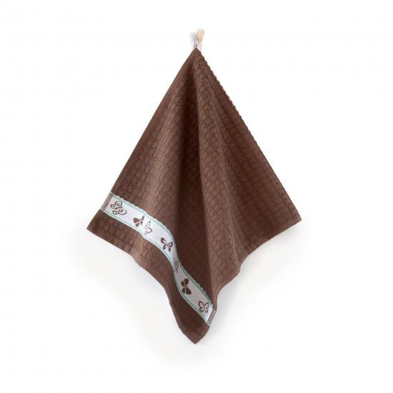 Ręcznik kuchenny Motyle Kawowy