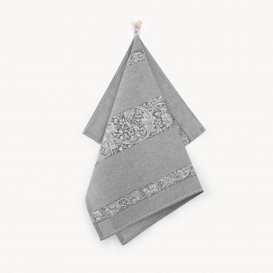 Ściereczka kuchenna Ornament Szary