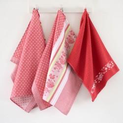 Kochany Dziadek - Ręcznik z haftem w drewnianym opakowaniu