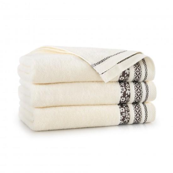 Ręcznik bawełniany Garden Ecru