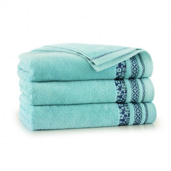 Ręcznik bawełniany zielony Garden Jezioro