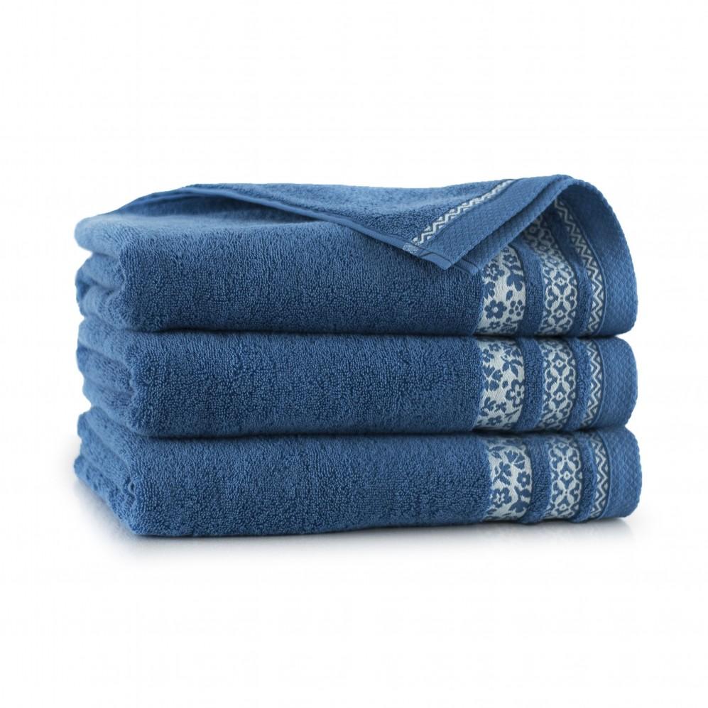 Ręcznik bawełniany niebieski Garden Sodalit