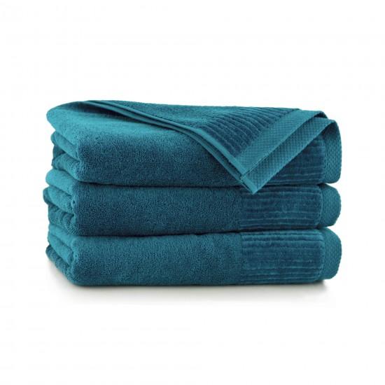 Ręcznik bawełniany zielony Lisbona Emerald