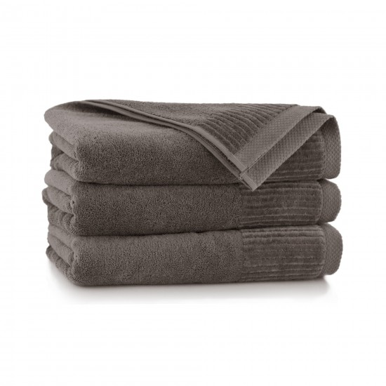 Ręcznik bawełniany brązowy Lisbona Taupe