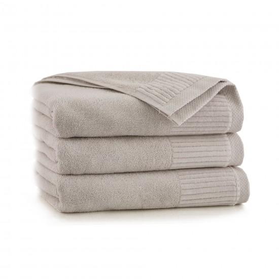 Ręcznik bawełniany beżowy Lisbona Kreta