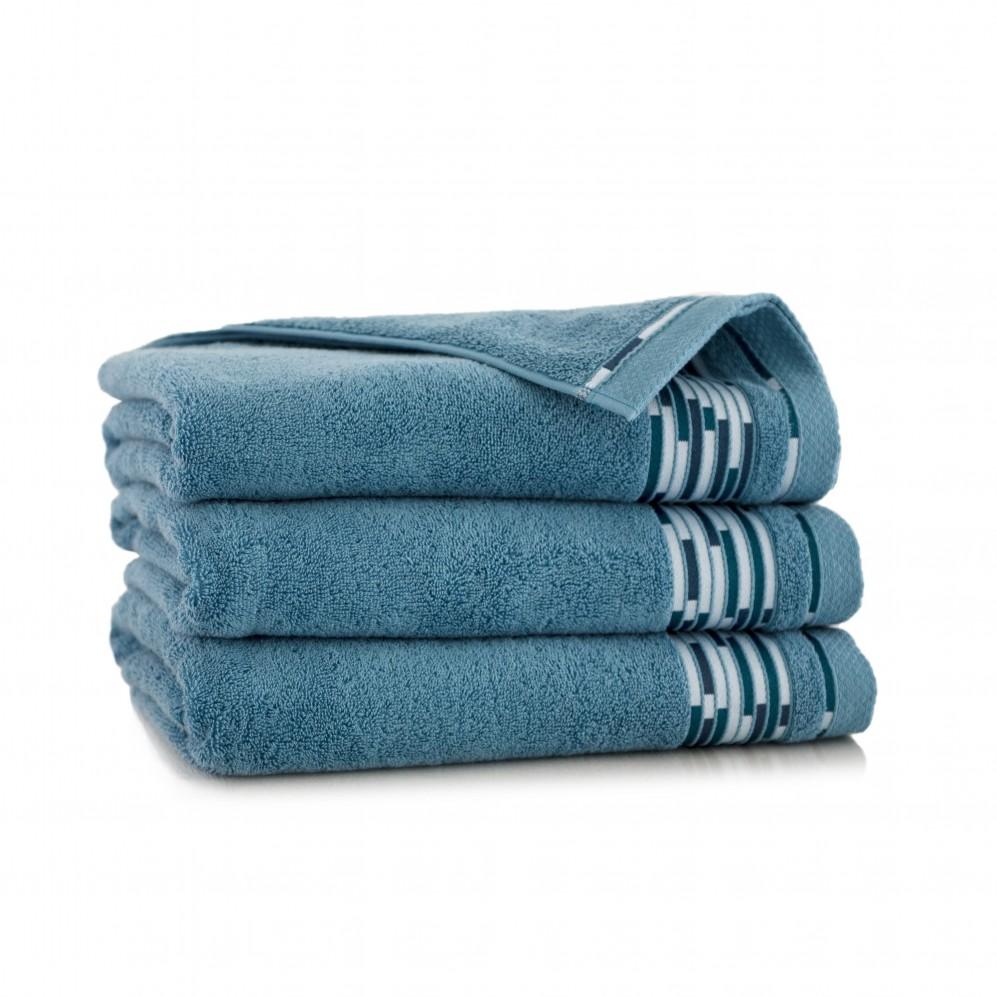 Ręcznik bawełniany niebieski Grafik Niagara