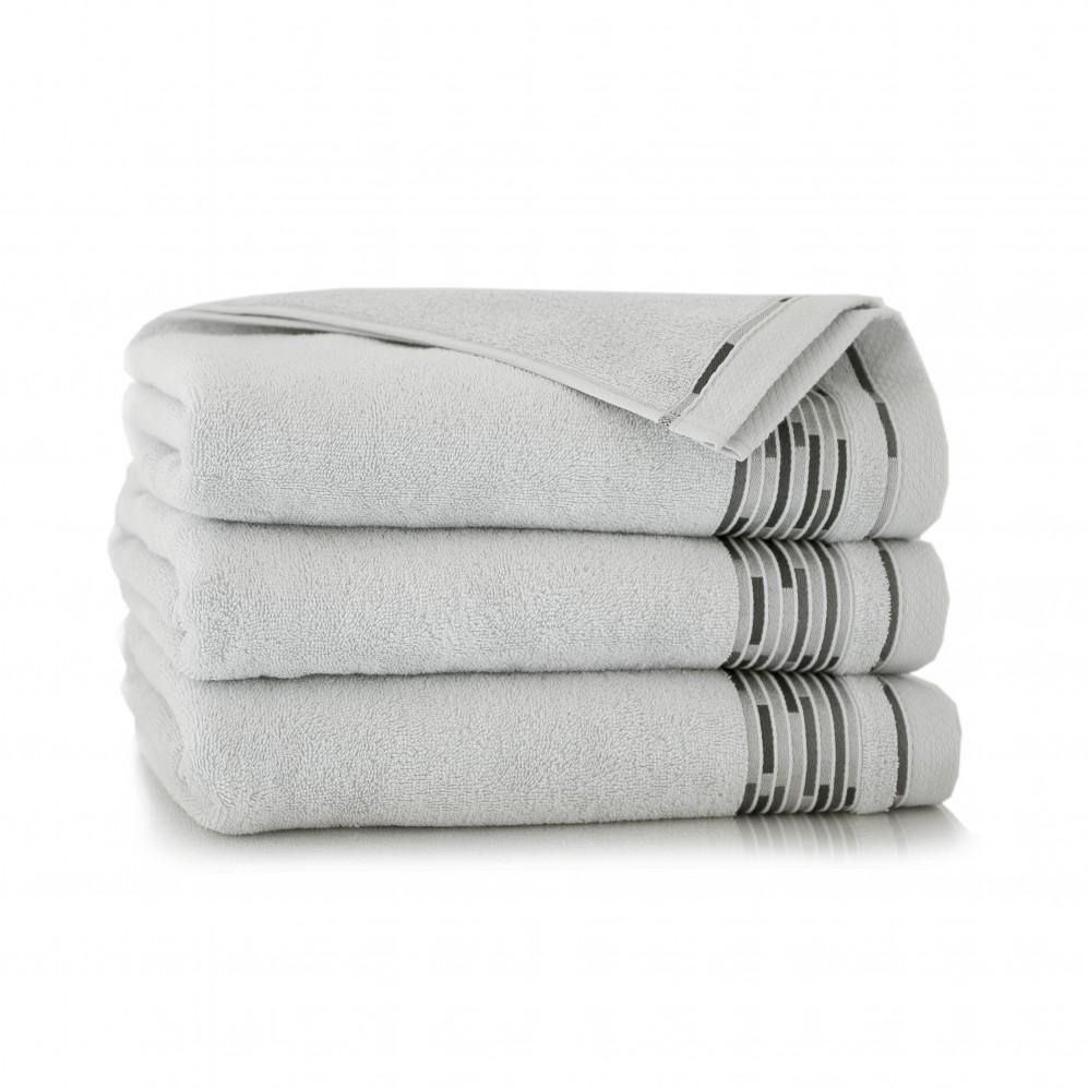 Ręcznik bawełniany Grafik Stalowy