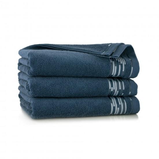Ręcznik bawełniany Grafik Indygo