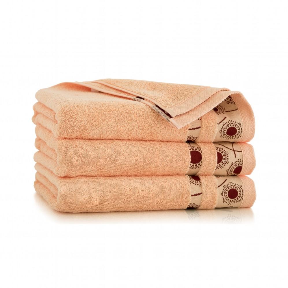 Ręcznik bawełniany różowy Natura Melba