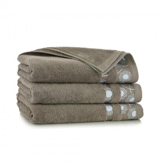 Ręcznik bawełniany beżowy Natura Sezam