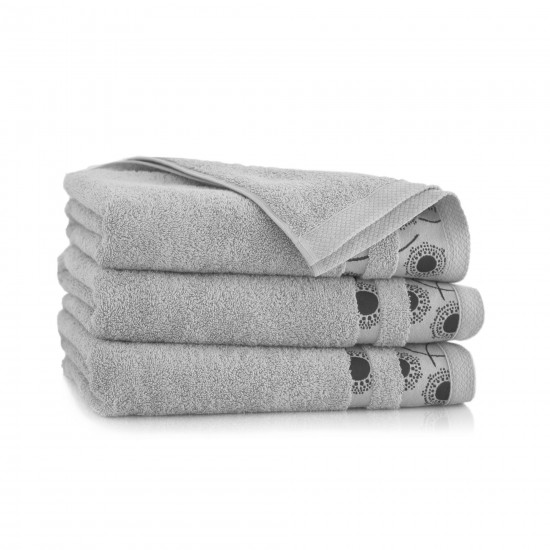 Ręcznik bawełniany szary Natura Bazalt