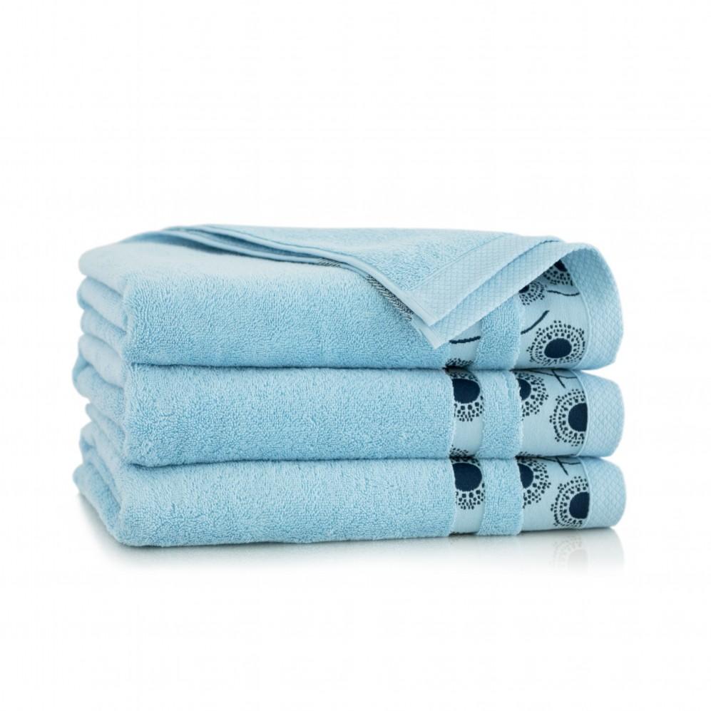 Ręcznik bawełniany niebieski Natura Alpejski