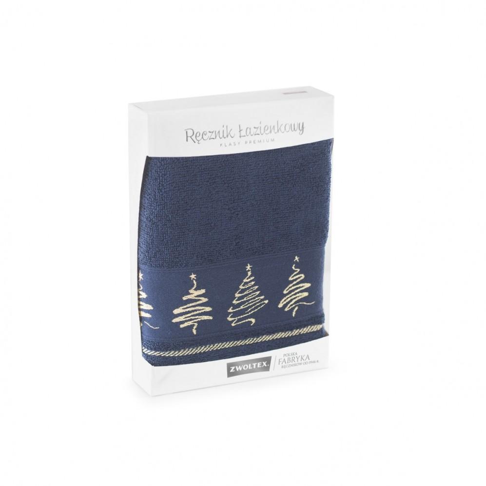 Ręcznik bawełniany Jodła Atramentowy