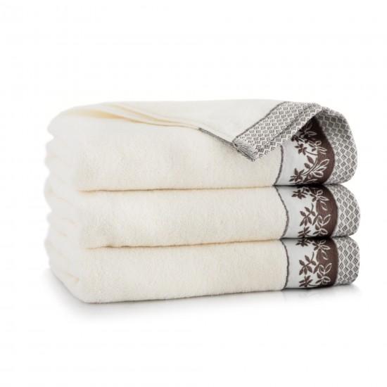 Ręcznik bawełniany Laura Kremowy