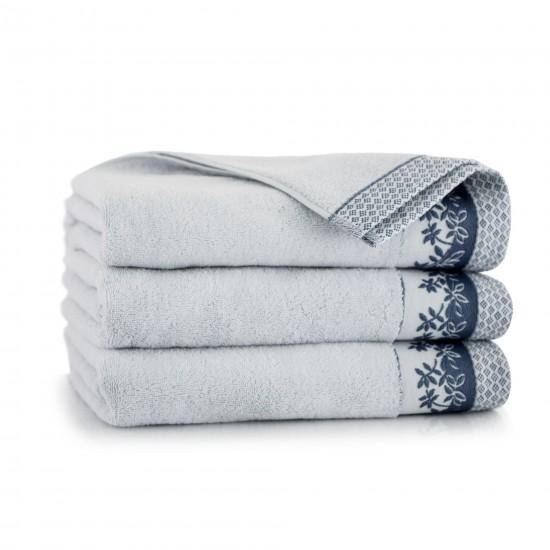 Ręcznik bawełniany Laura Stalowy