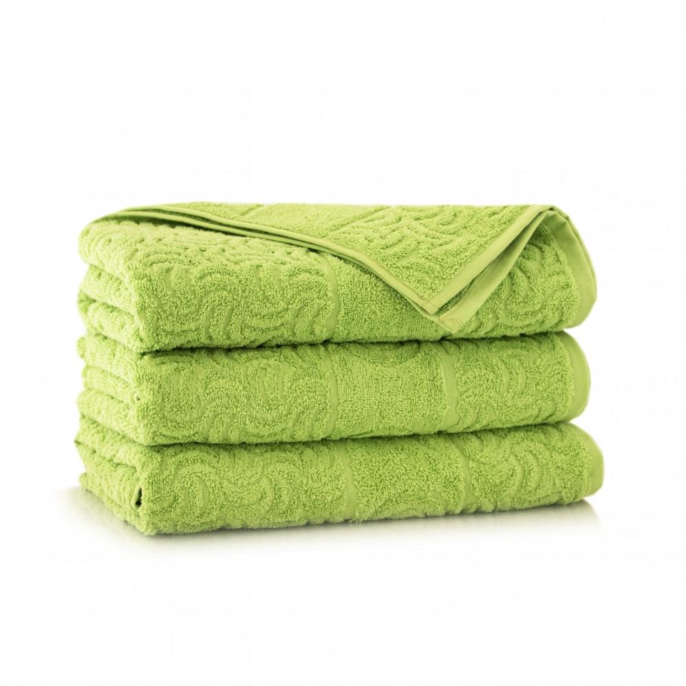 Ręcznik bawełniany zielony Morwa Amazon