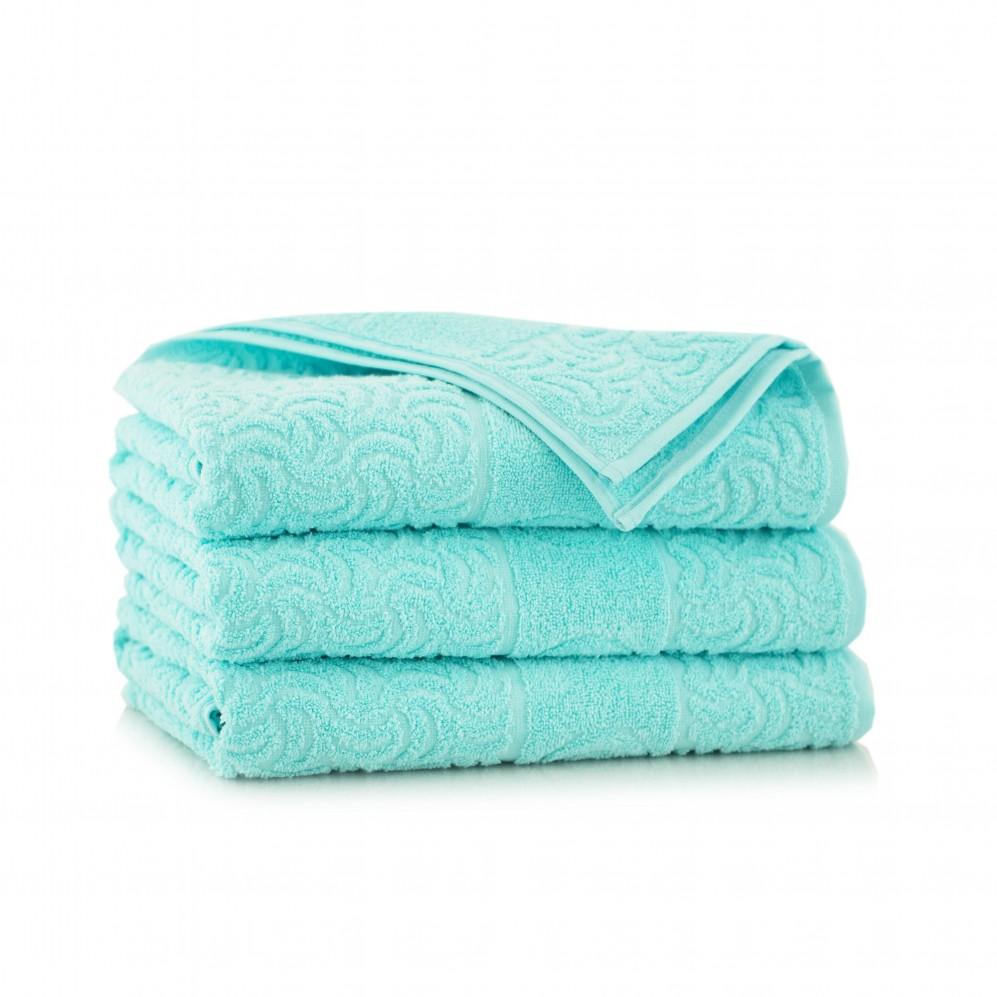 Ręcznik bawełniany Morwa Turkus jasny