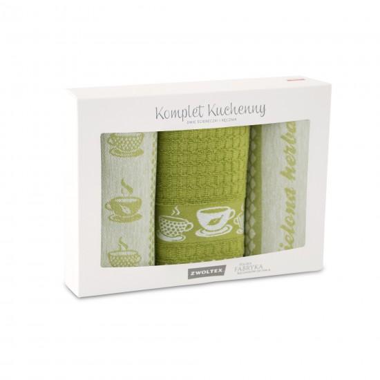 Komple t kuchenny Herbata Zielony