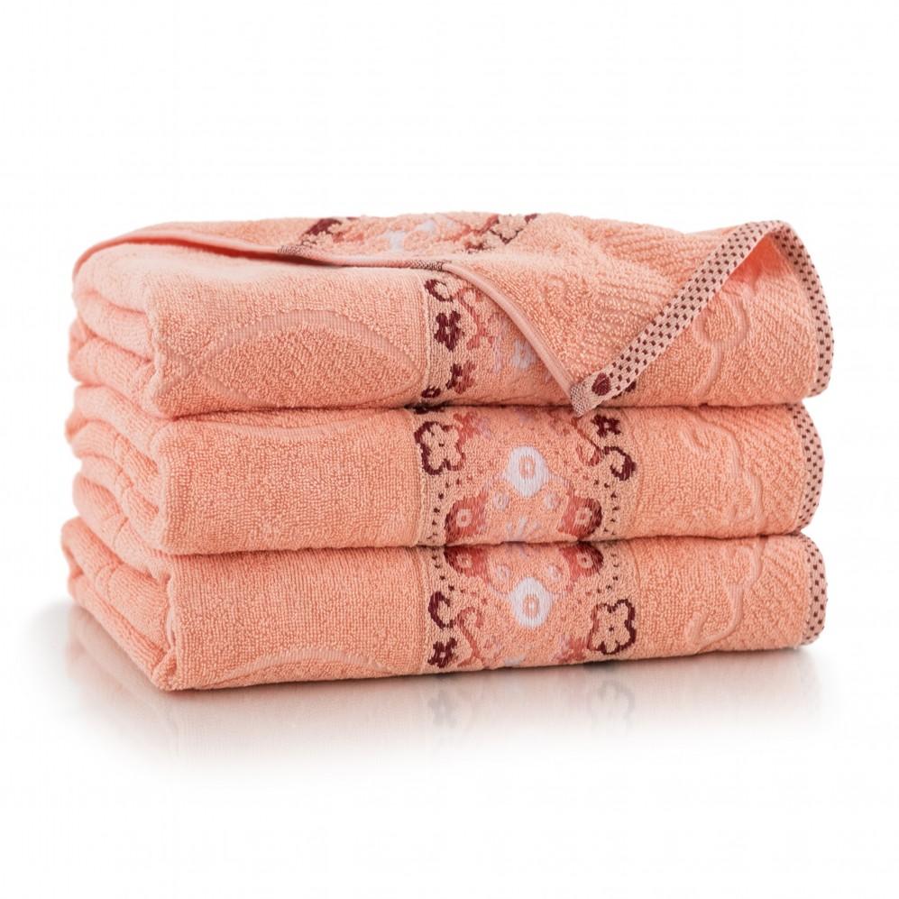 Ręcznik bawełniany różowy Victoria Melba