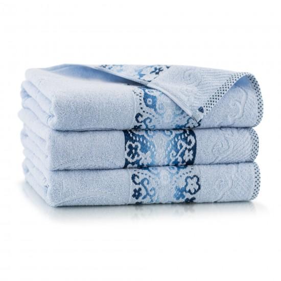 Ręcznik bawełniany niebieski Victoria Lapis