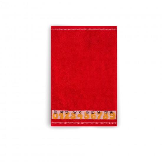 Ręcznik dla dzieci Cyferki Makowe